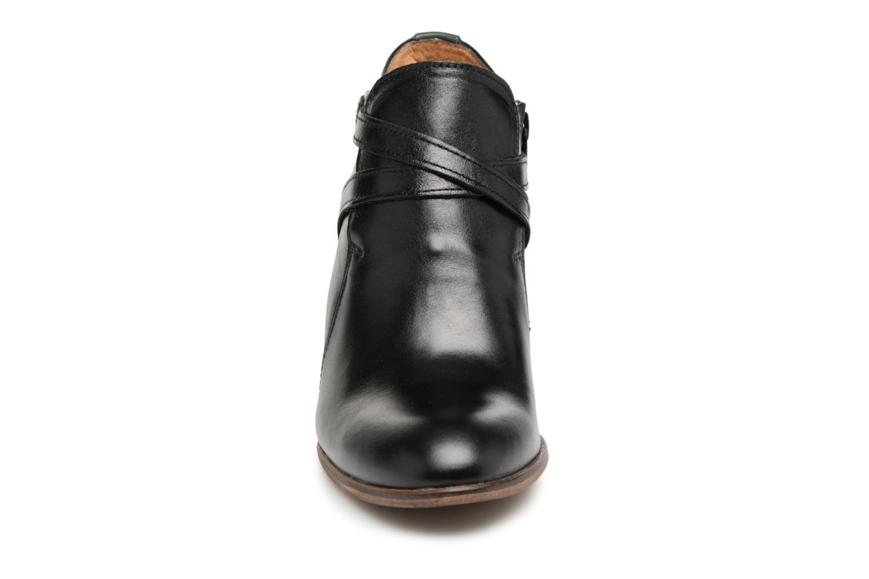 Bottines et boots Kickers DATA Noir vue portées chaussures