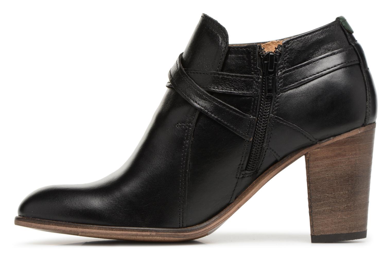 Bottines et boots Kickers DATA Noir vue face
