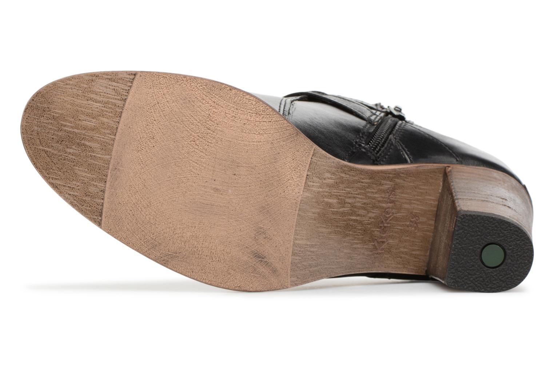 Bottines et boots Kickers DATA Noir vue haut