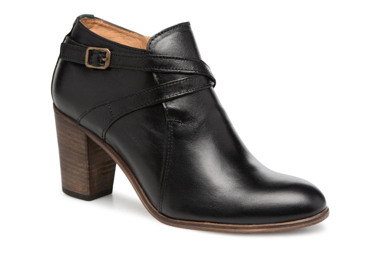Bottines et boots Kickers DATA Noir vue détail/paire