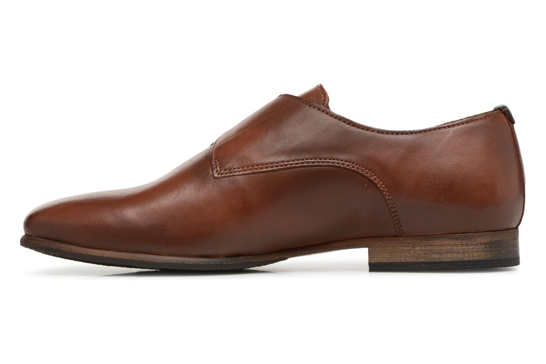 Chaussures à lacets Kickers GAMBETTA Marron vue face