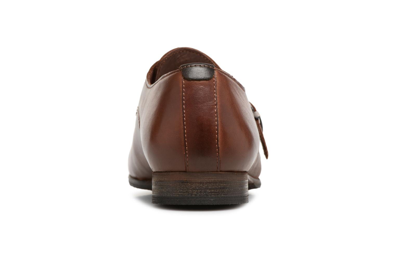 Chaussures à lacets Kickers GAMBETTA Marron vue droite