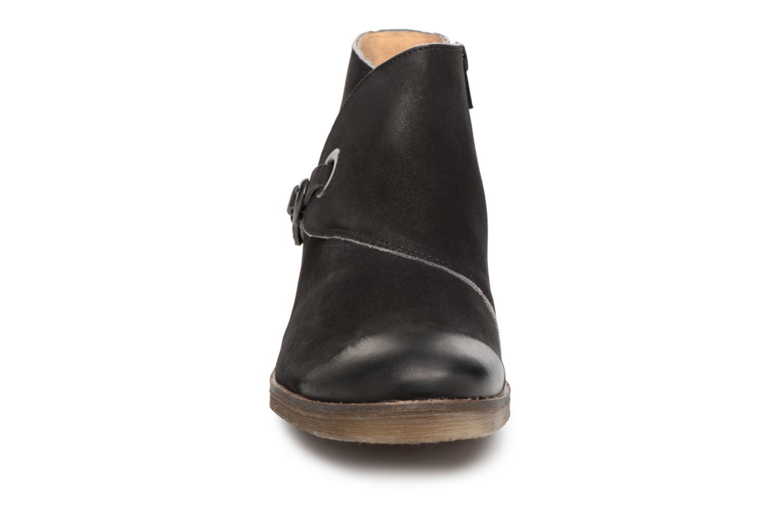 Bottines et boots Kickers MISS Noir vue portées chaussures