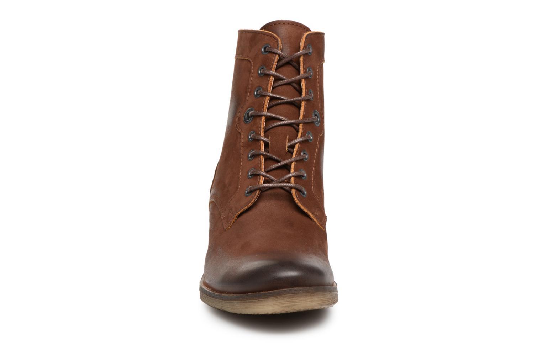 Bottines et boots Kickers MISSING Marron vue portées chaussures
