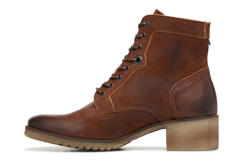 Bottines et boots Kickers MISSING Marron vue face
