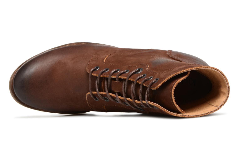 Bottines et boots Kickers MISSING Marron vue gauche