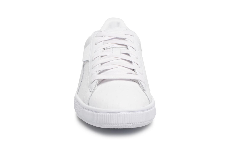 Sneaker Puma BASKET CLASSIC OSR weiß schuhe getragen