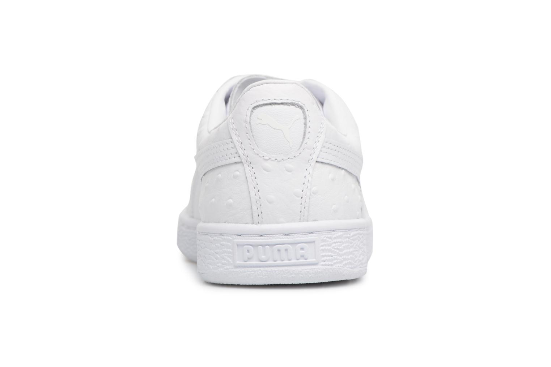 Sneaker Puma BASKET CLASSIC OSR weiß ansicht von rechts