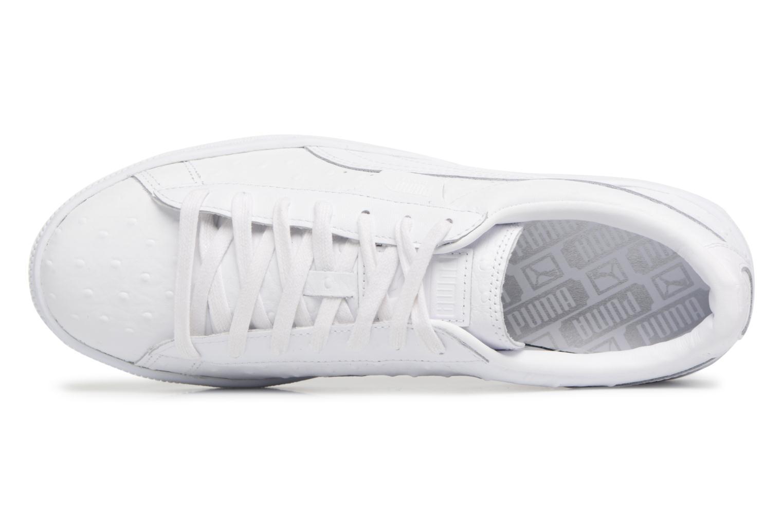 Sneaker Puma BASKET CLASSIC OSR weiß ansicht von links
