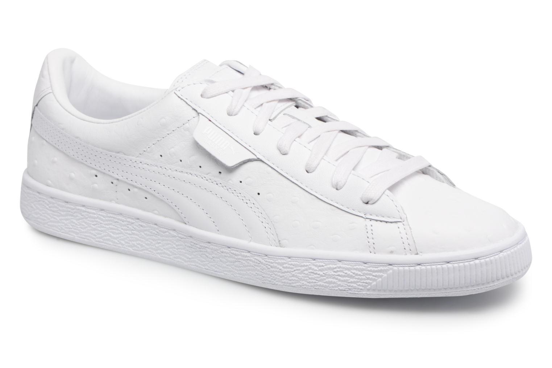 Sneaker Puma BASKET CLASSIC OSR weiß detaillierte ansicht/modell