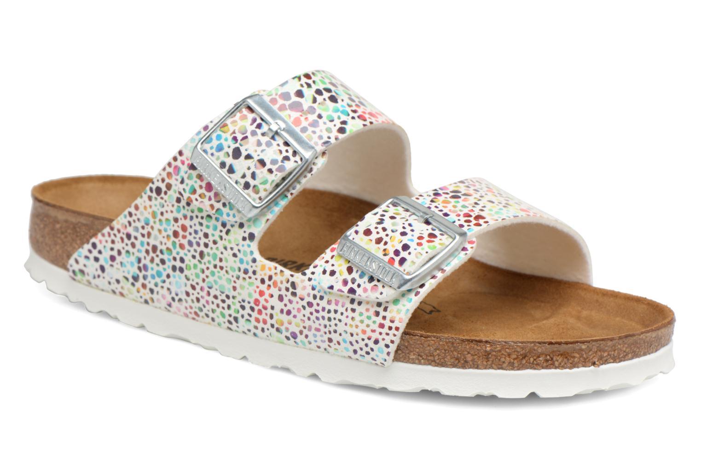 Zapatos promocionales Birkenstock Arizona Microfibre W (Blanco) - Sandalias   Gran descuento