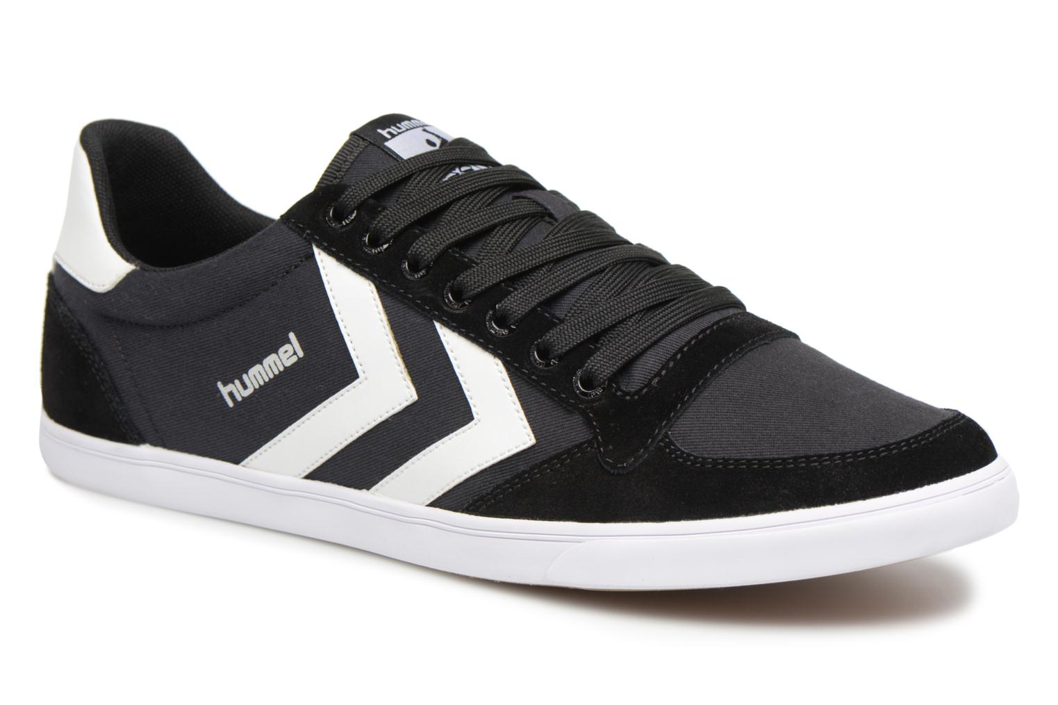 Marques Chaussure homme Hummel homme HUMMEL SLIMMER ST LOW Black/white