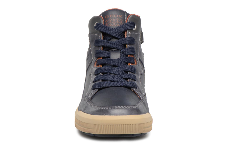 Baskets Geox J ARZACH B. D Bleu vue portées chaussures