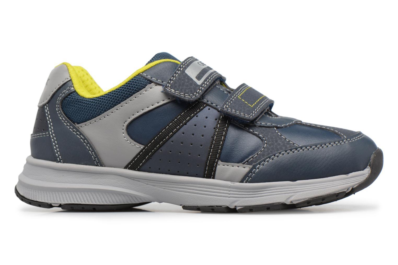 Sneaker Geox J TOP FLY B. B blau ansicht von hinten