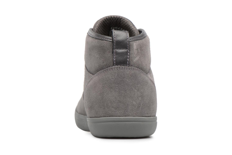 Sneaker Geox U BOX H grau ansicht von rechts