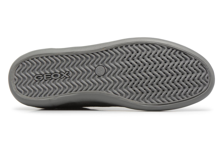Sneaker Geox U BOX H grau ansicht von oben