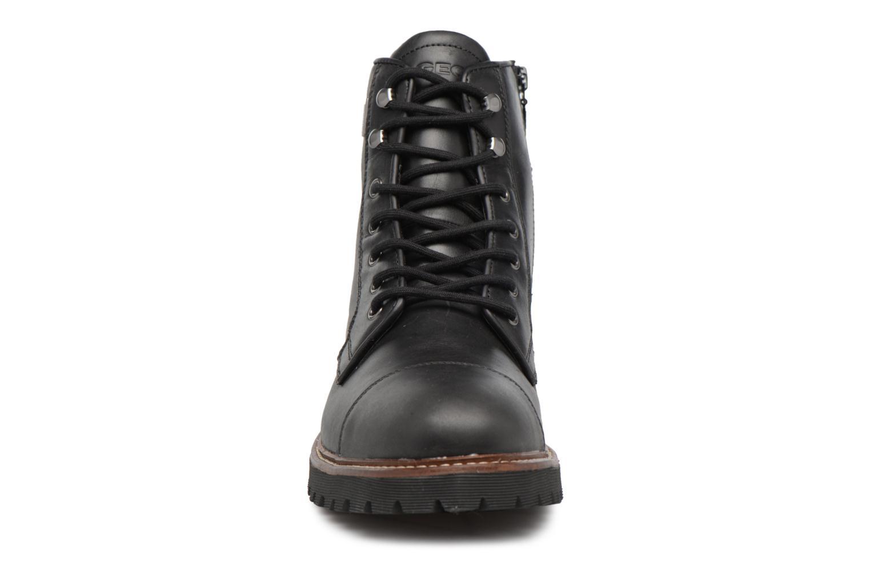 Stiefeletten & Boots Geox U KIEVEN B ABX C schwarz schuhe getragen