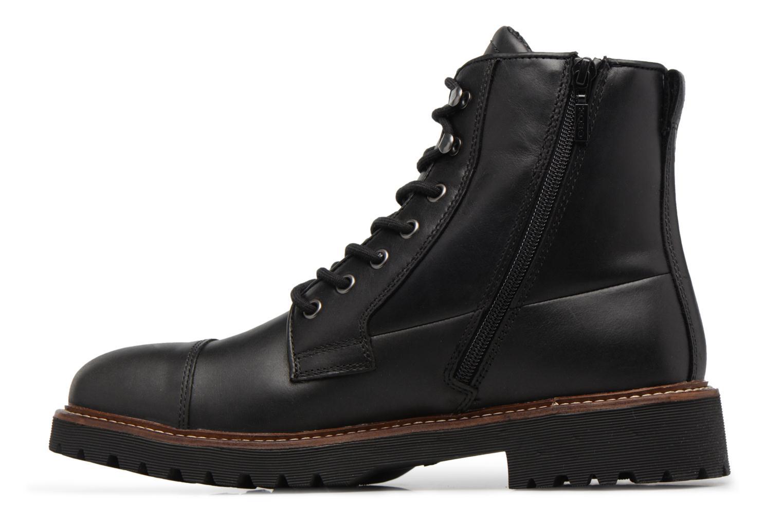 Stiefeletten & Boots Geox U KIEVEN B ABX C schwarz ansicht von vorne