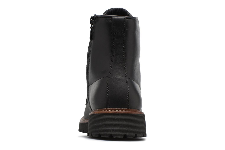 Stiefeletten & Boots Geox U KIEVEN B ABX C schwarz ansicht von rechts