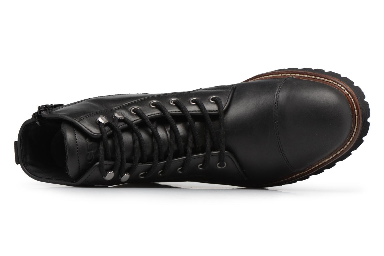 Stiefeletten & Boots Geox U KIEVEN B ABX C schwarz ansicht von links