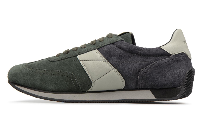 Sneakers Geox U VINTO B Verde immagine frontale