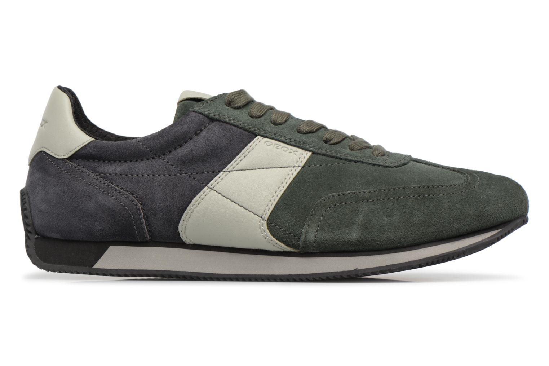 Sneakers Geox U VINTO B Verde immagine posteriore