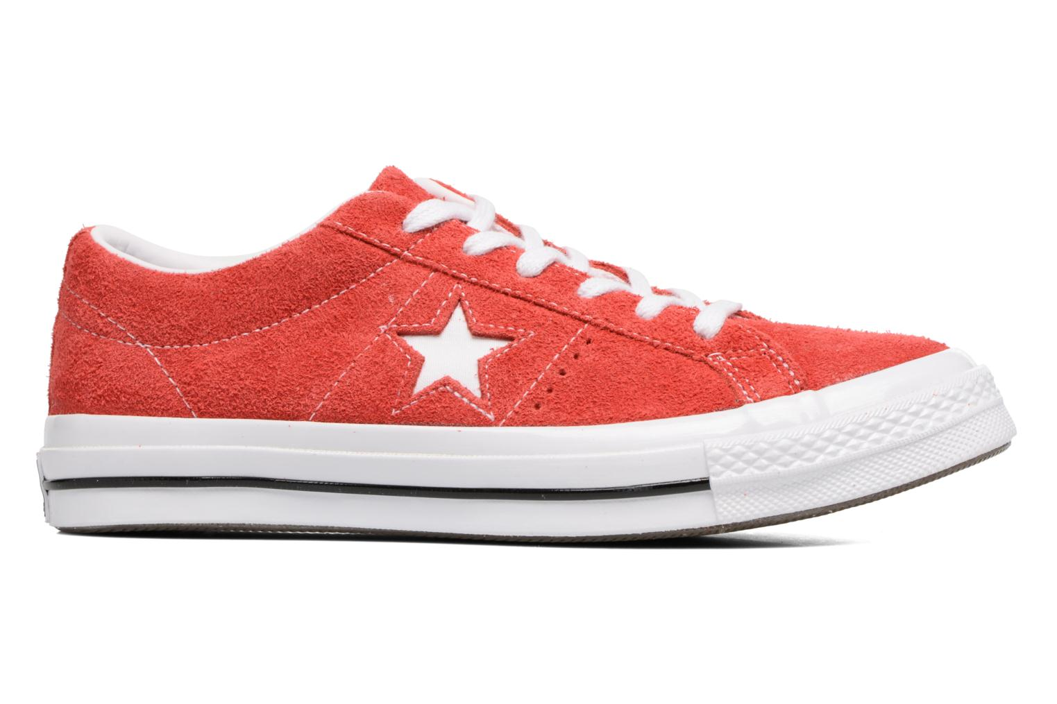 Baskets Converse One Star OG Suede Ox W Rouge vue derrière