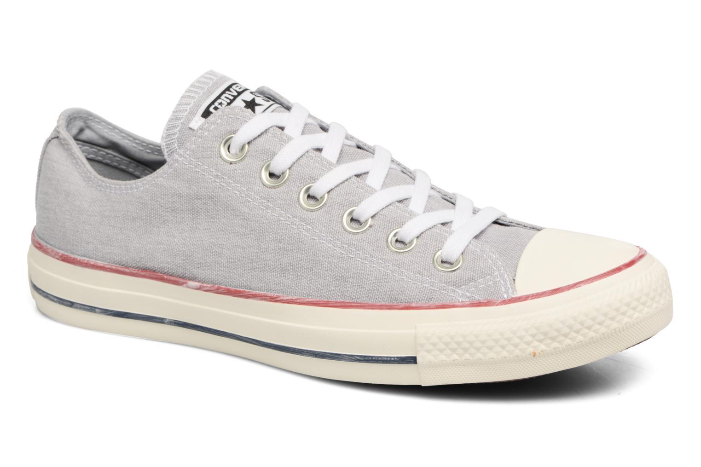 Chuck Taylor All Star Stone Wash Ox W Wolf Grey/Wolf Grey/White