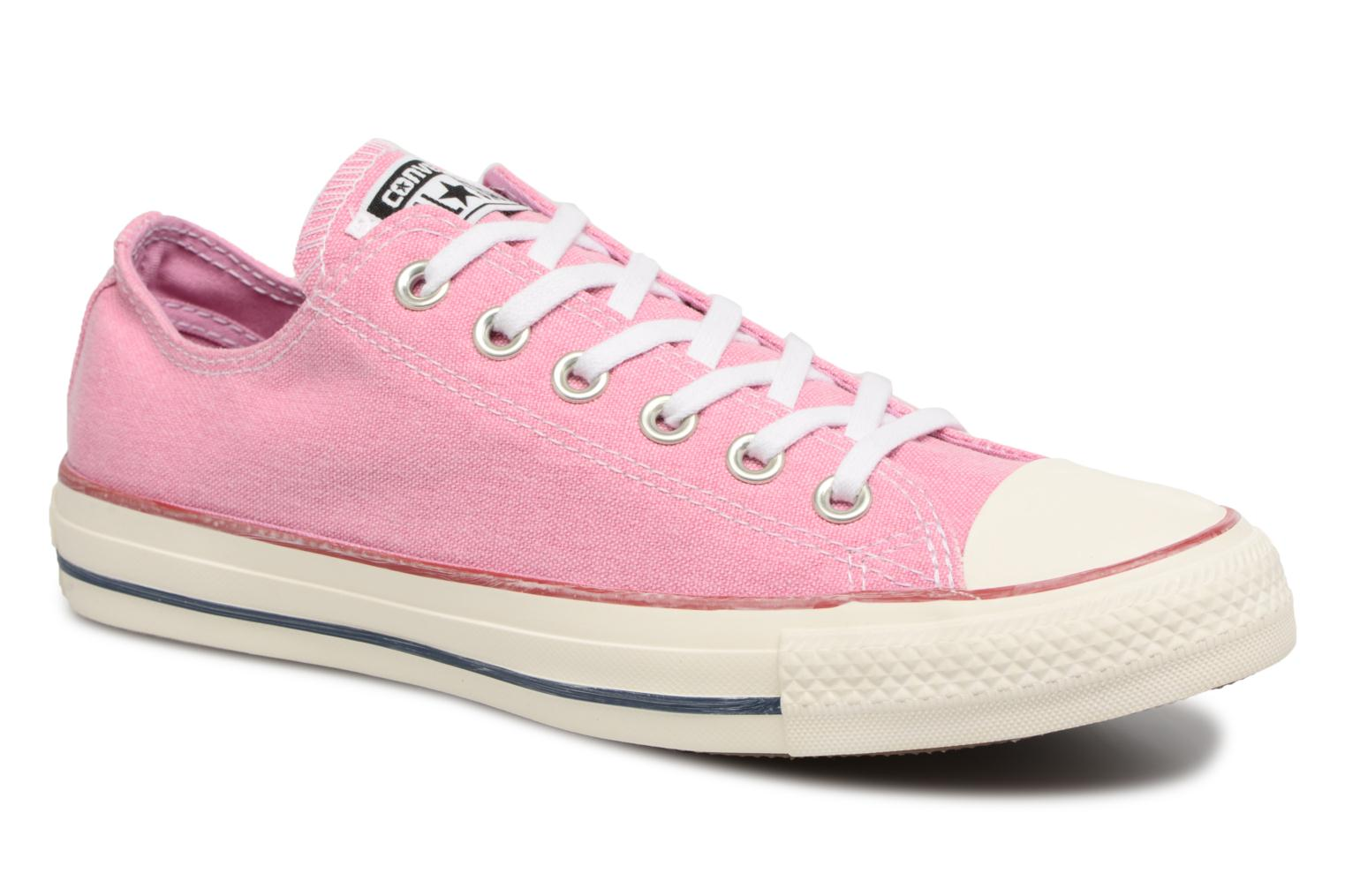 Converse Chuck Taylor All Star Stone Wash Ox W Rose v4vVVDZ
