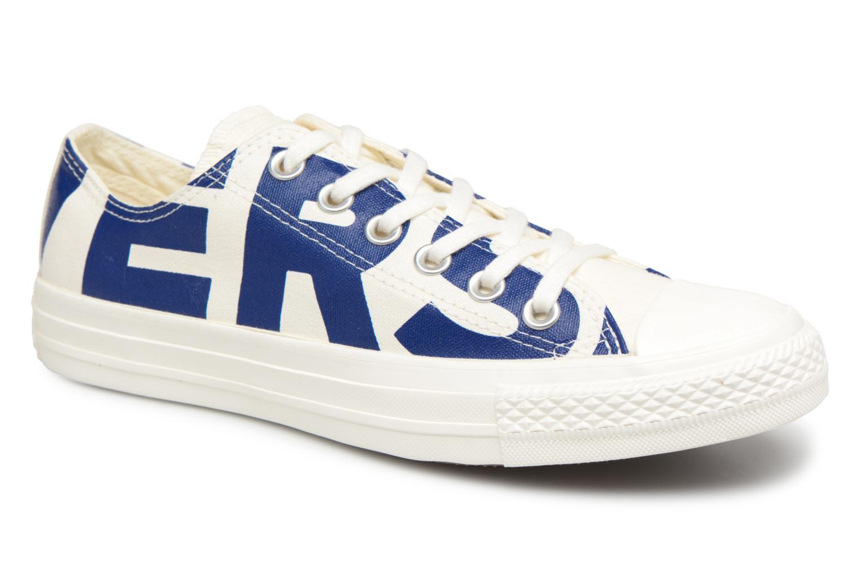 Zapatos promocionales Converse Chuck Taylor All Star Converse Wordmark Ox W (Blanco) - Deportivas   Cómodo y bien parecido