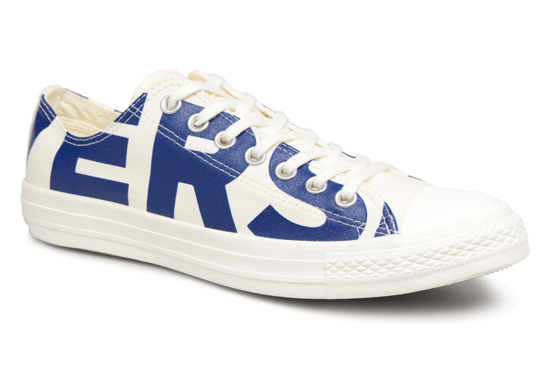 Converse Chuck Taylor All Star Converse Wordmark Ox (Blanc) - Baskets chez  Sarenza (   25c7a72ba96