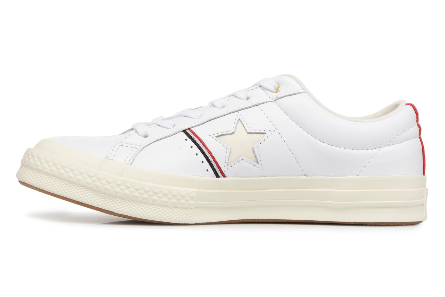 Baskets Converse One Star Piping Pack Ox W Blanc vue face