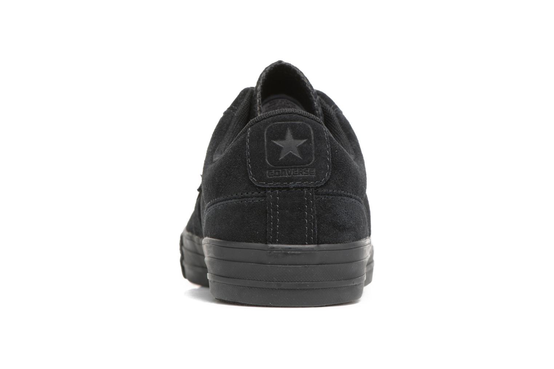 Deportivas Converse Star Player Reflective Logo Ox Negro vista lateral derecha