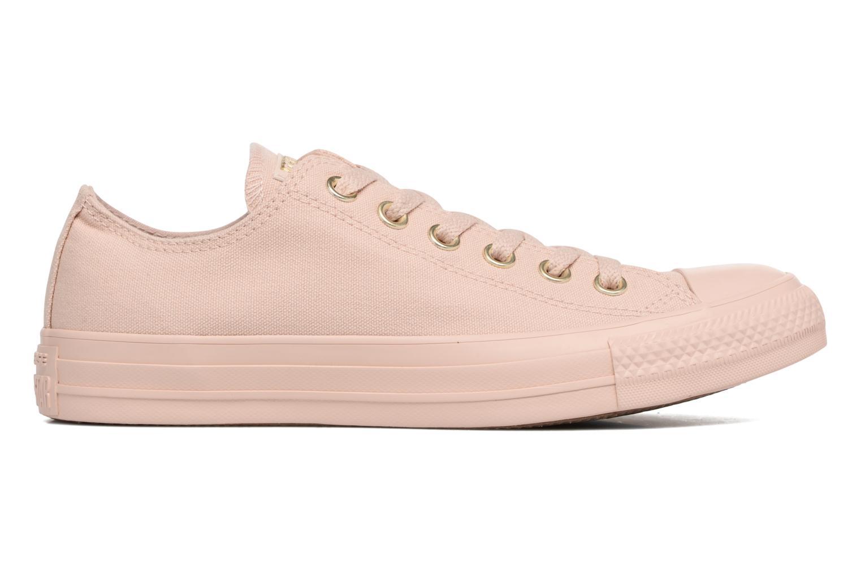 Sneakers Converse Chuck Taylor All Star Mono Glam Canvas Color Ox W Rosa bild från baksidan