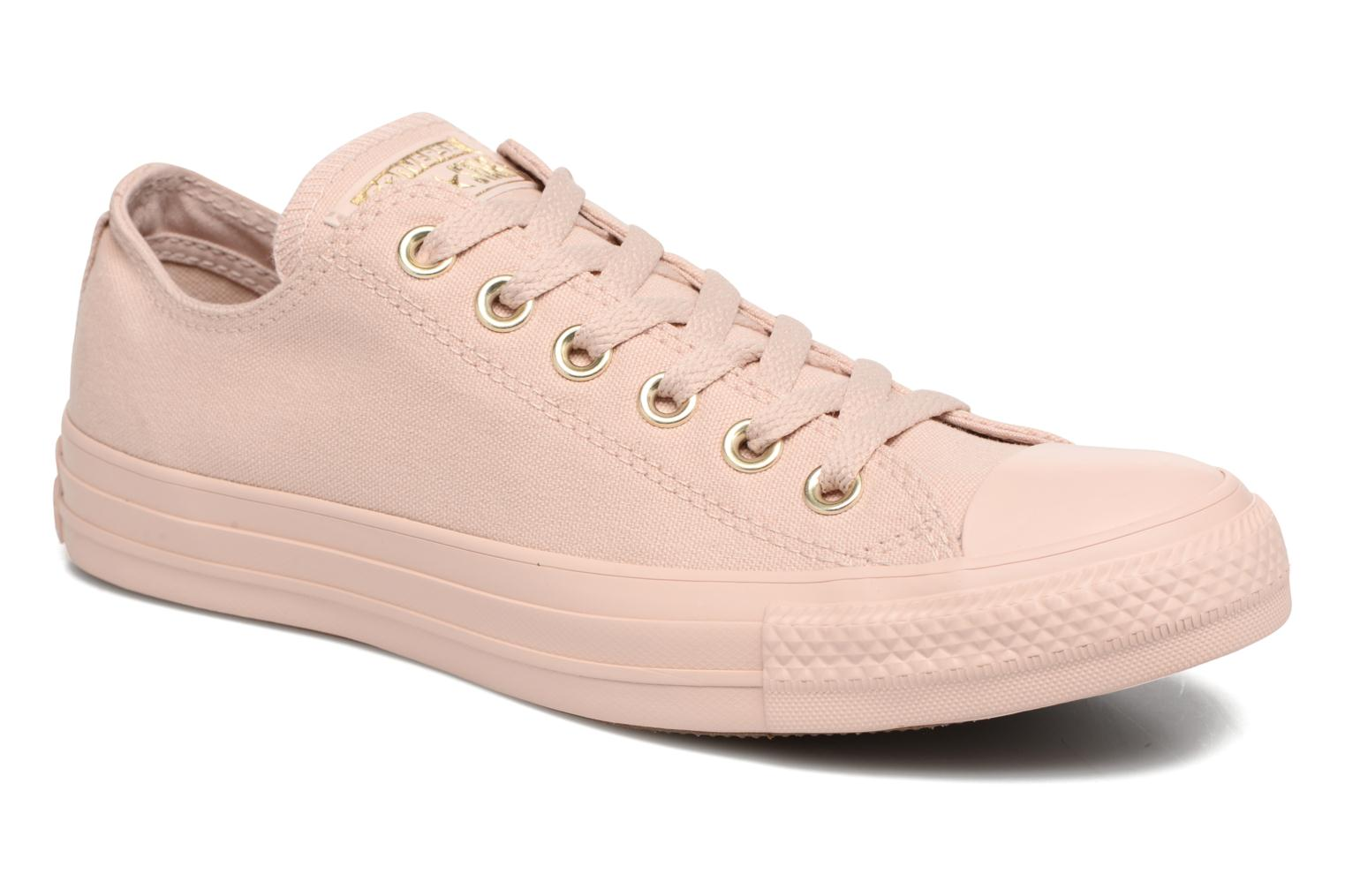 Sneakers Converse Chuck Taylor All Star Mono Glam Canvas Color Ox W Rosa vedi dettaglio/paio