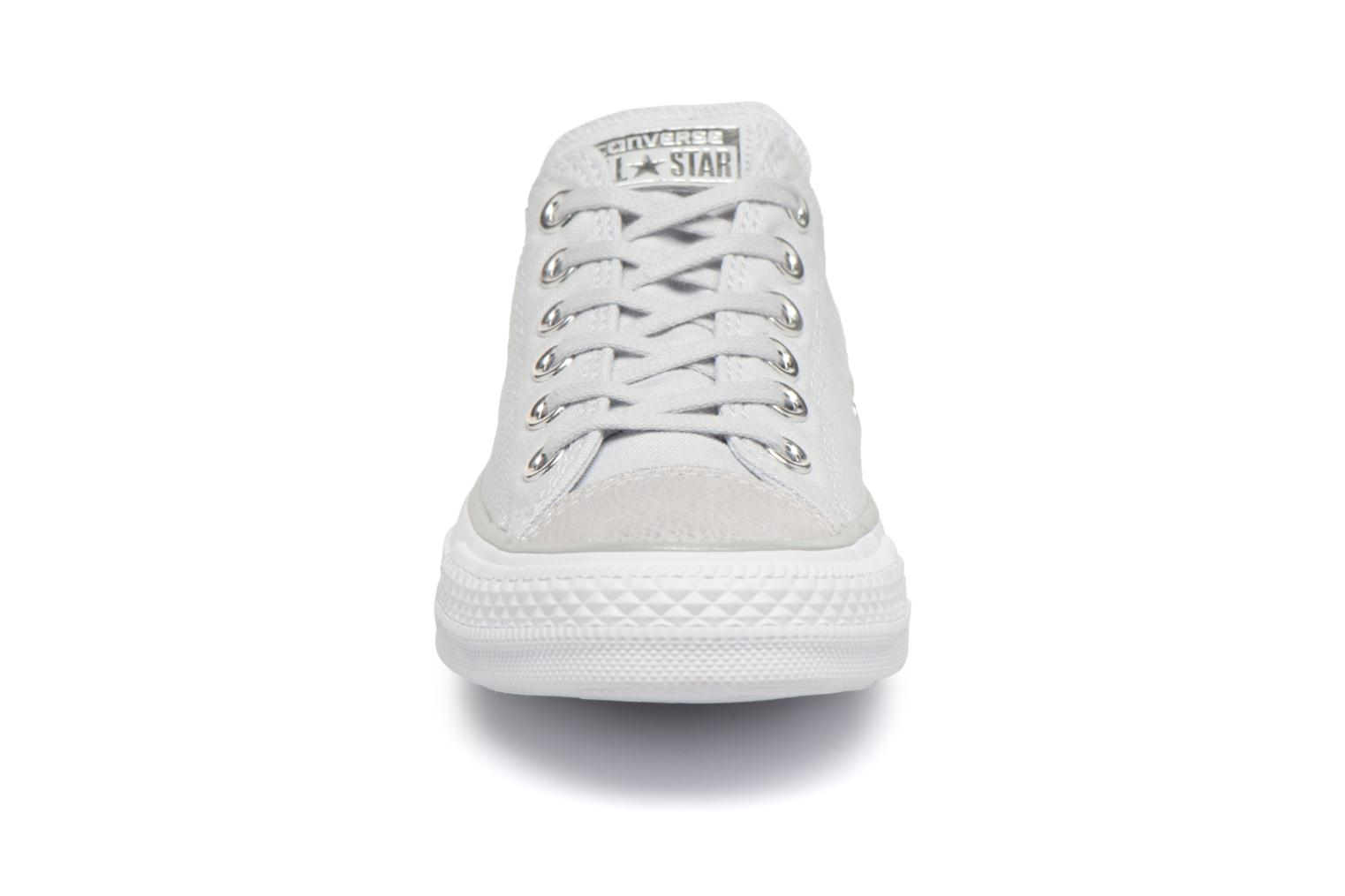 Metallic Tipped Silver Chuck Pure Converse Platinum Toecap Star Taylor Ox White All wTZqBR