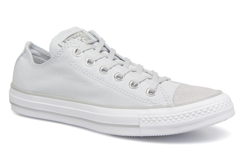 modelo más vendido de la marca Converse Chuck Taylor All Star Tipped Metallic Toecap Ox (Gris) - Deportivas en Más cómodo