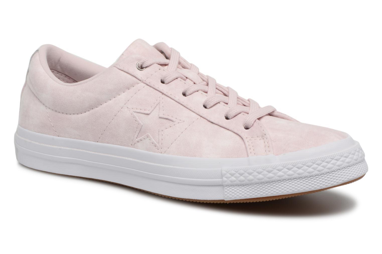 Los zapatos más populares para hombres y mujeres Converse One Star Peached Wash Ox W (Rosa) - Deportivas en Más cómodo