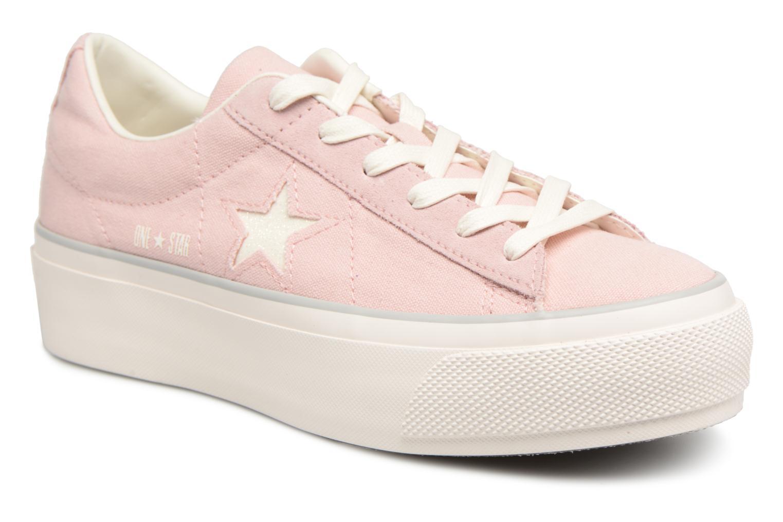converse one star platform rosa
