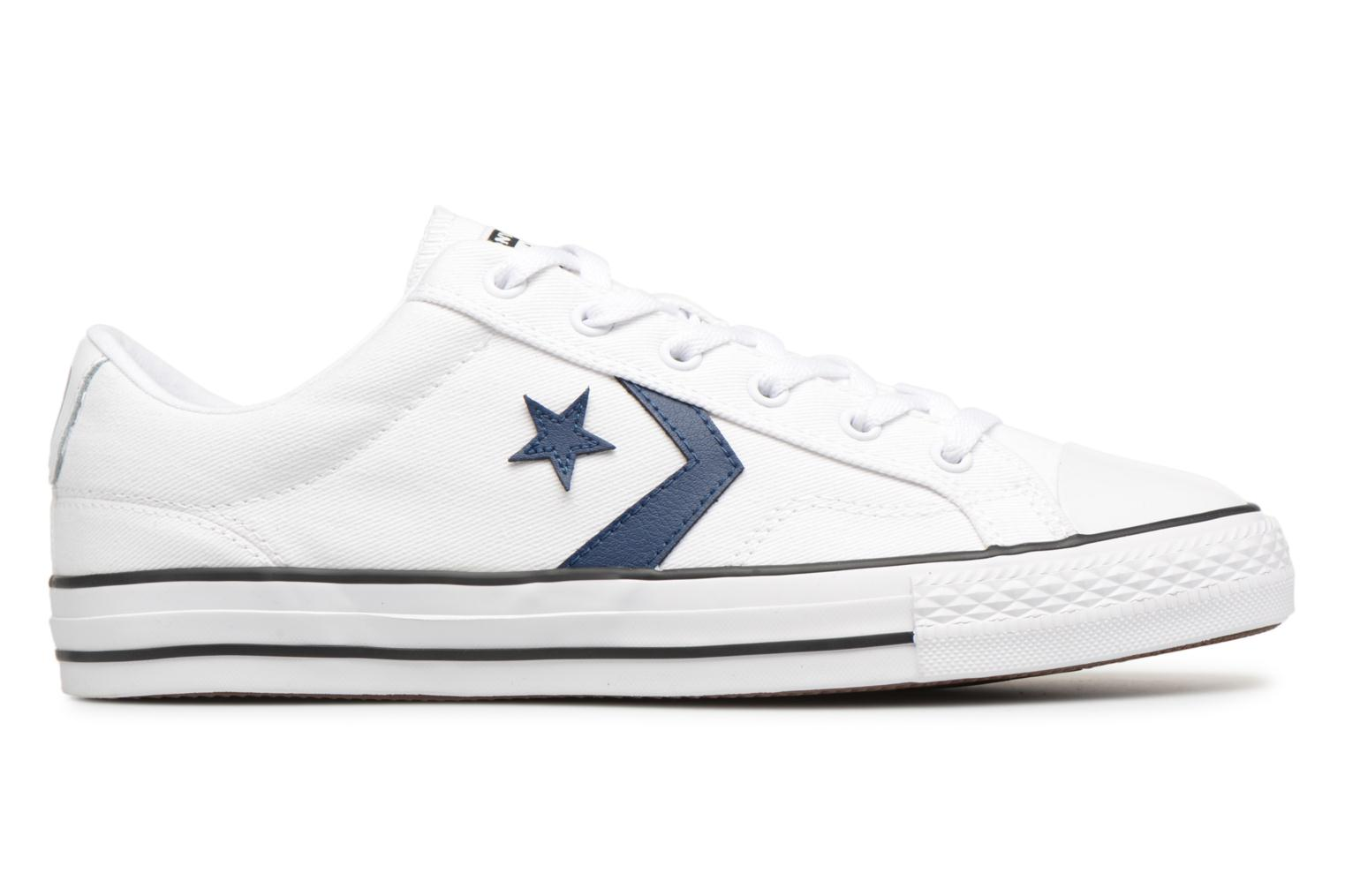 Sneakers Converse Star Player Summer Twill Ox Wit achterkant