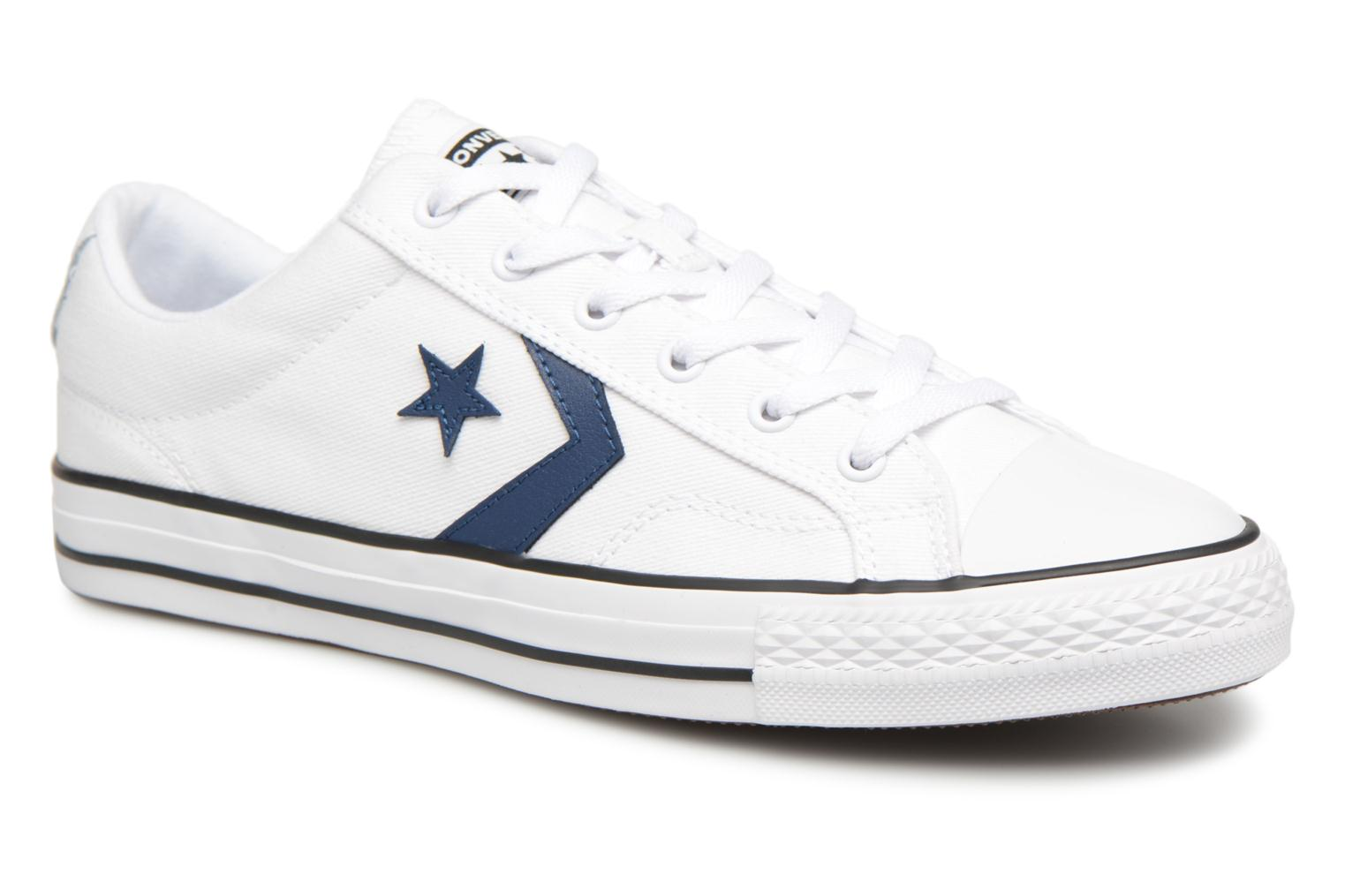 Sneakers Converse Star Player Summer Twill Ox Wit detail
