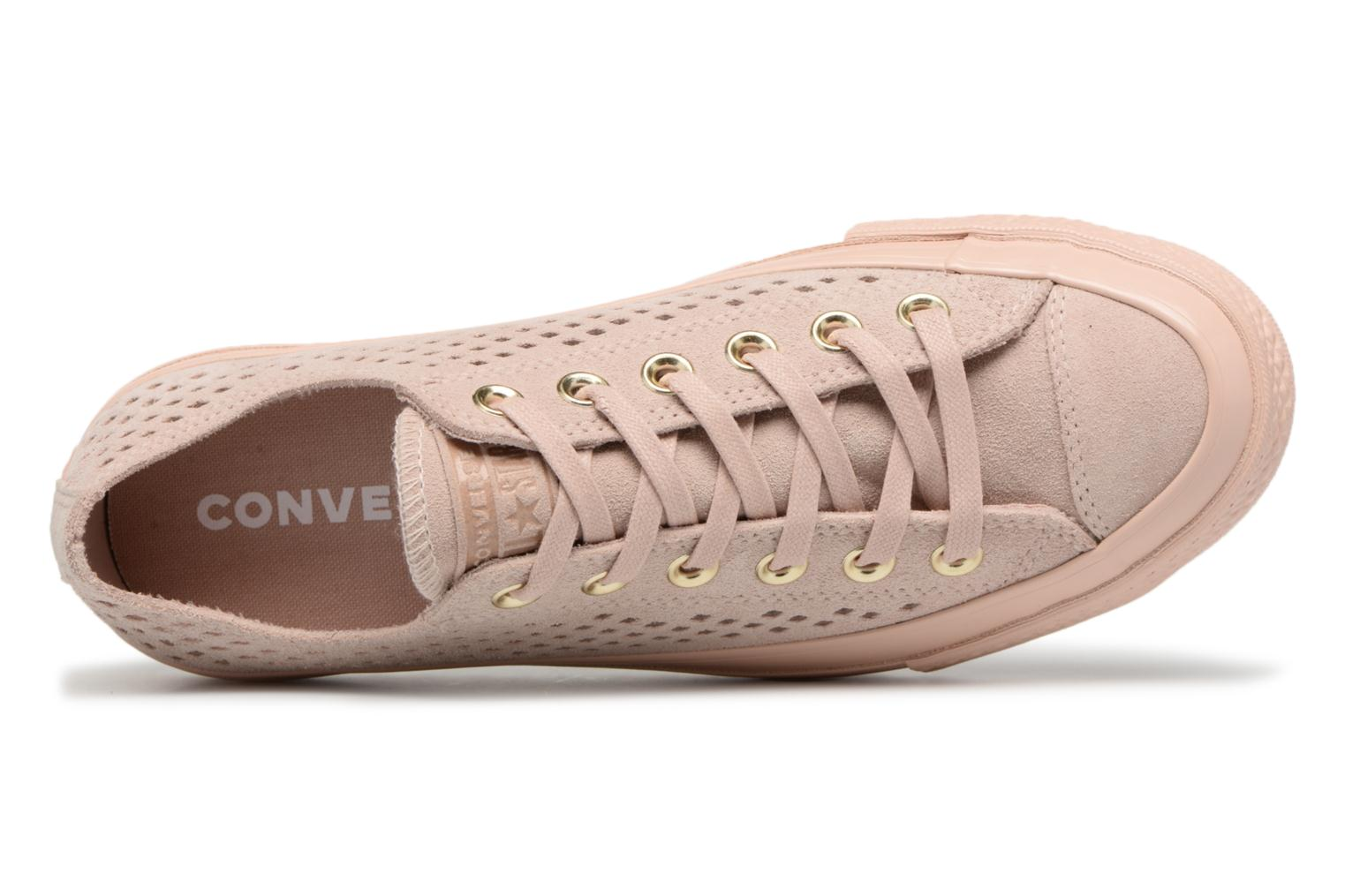 Mono Beige Lift All Particle Taylor Ox Ripple Perf Converse