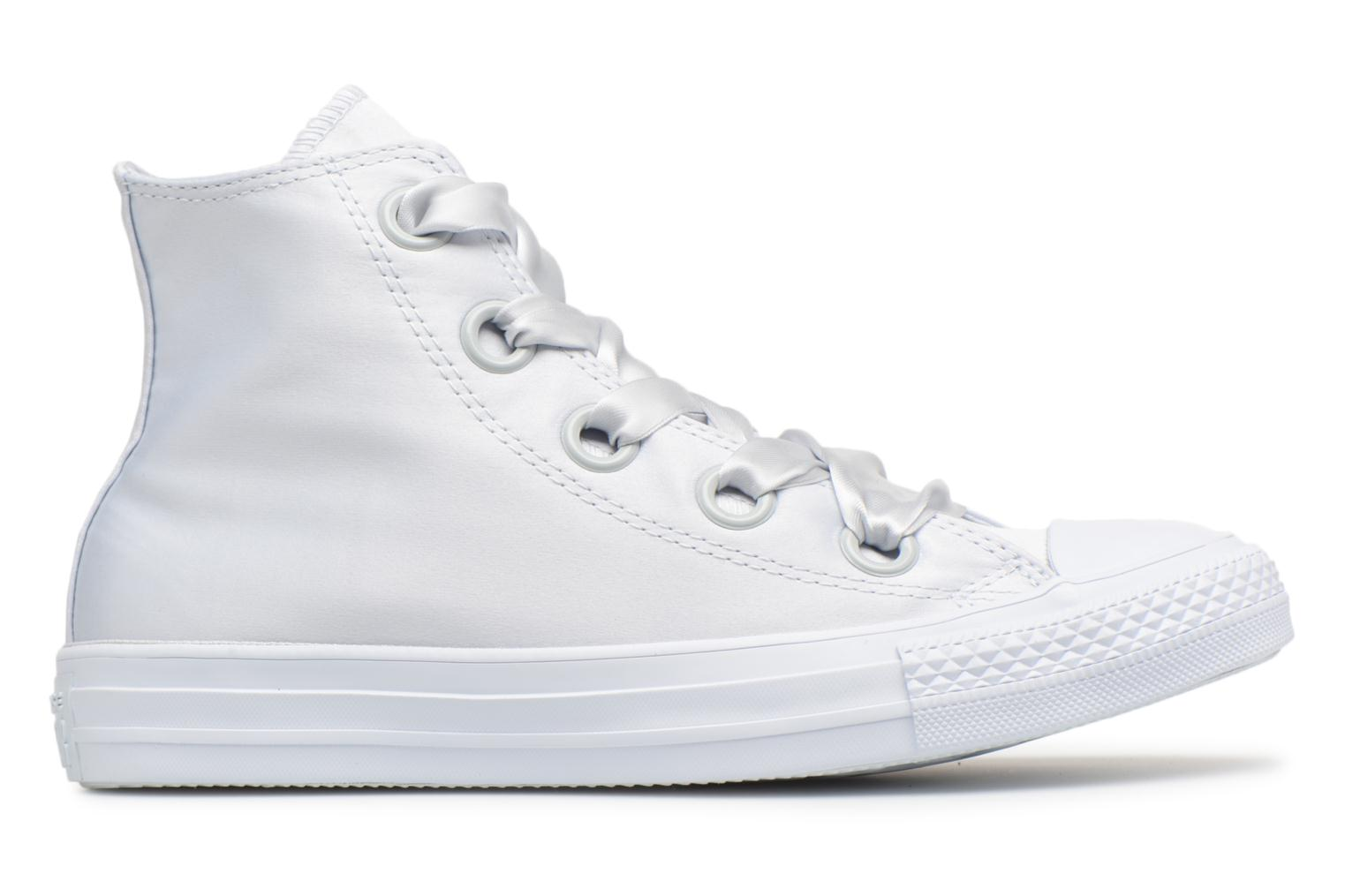Sneakers Converse Chuck Taylor All Star Big Eyelets Satin Hi Bianco immagine posteriore