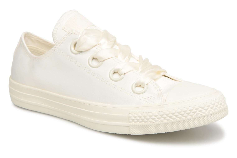 Zapatos de mujer baratos zapatos de mujer Converse Chuck Taylor All Star Big Eyelets Satin Ox (Blanco) - Deportivas en Más cómodo
