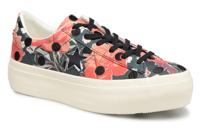 Grandes descuentos últimos zapatos Converse One Star Platform Floral Dots Ox (Multicolor) - Deportivas Descuento