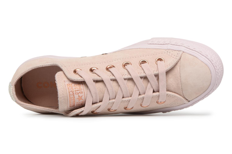 Zapatos promocionales Converse Chuck Taylor All Star Cherry Blossom II Ox (Beige) - Deportivas   Zapatos casuales salvajes
