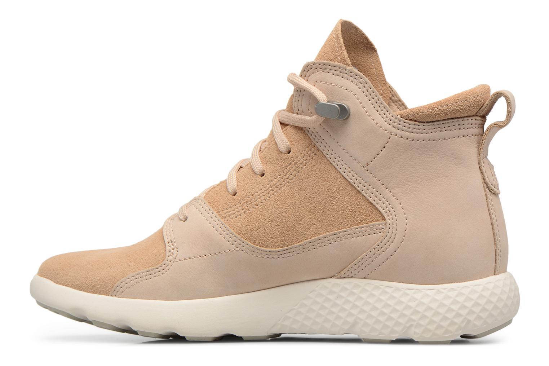 Bottines et boots Timberland FlyRoam Hiker Beige vue face