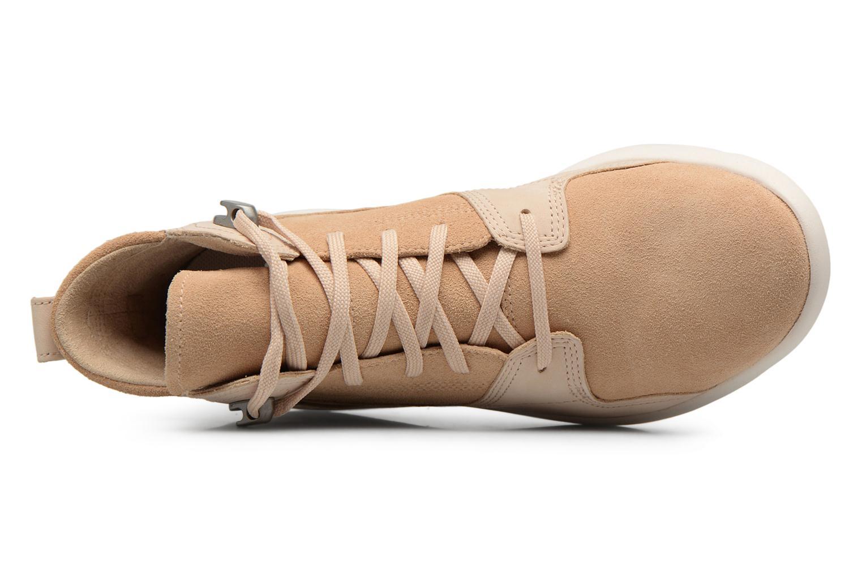 Stiefeletten & Boots Timberland FlyRoam Hiker beige ansicht von links