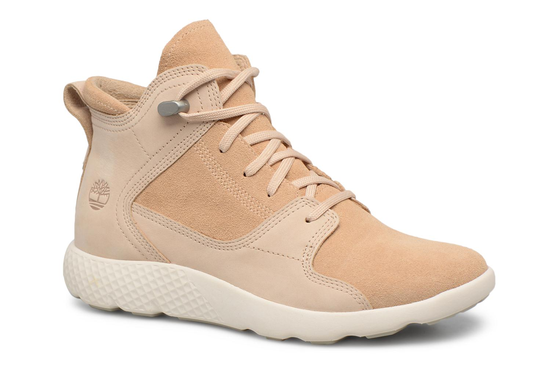Bottines et boots Timberland FlyRoam Hiker Beige vue détail/paire