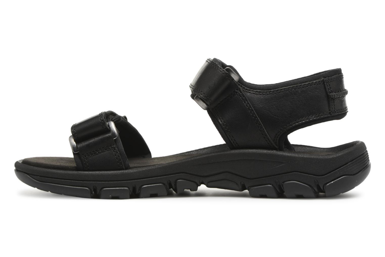 Sandales et nu-pieds Timberland Roslindale 2-Strap Noir vue face